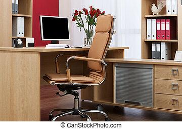 monitor, escrivaninha