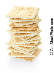 Crackers pile