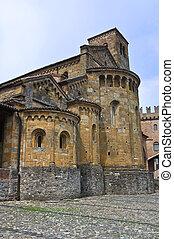 Collegiata Church CastellArquato Emilia-Romagna Italy