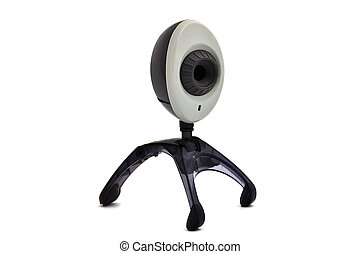wi-fi webcam on a white background