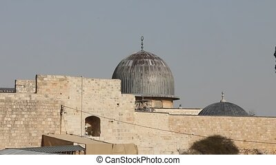 Old Jerusalem. Al Aqsa mosque