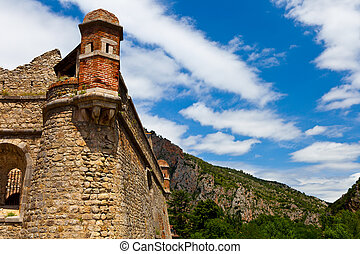 Villefranche de Conflent - Fort Liberia - south of France