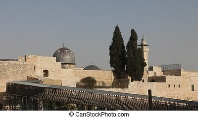 Old Jerusalem Al Aqsa mosque