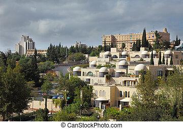 el, capital, israel, -, jerusalén, hotel, rey, david