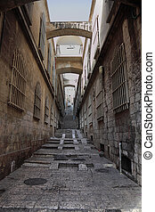 Narrow street in Christian quarter - The great city of...