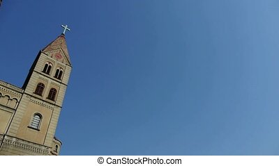 Panoramic of Qingdao Church. - Panoramic of Qingdao Catholic...