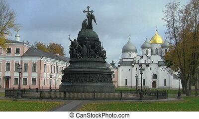 monument to Russia's Millennium