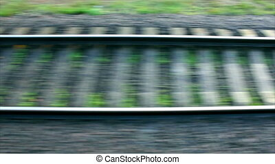 Railroad track Full HD