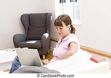 婦女, 電腦