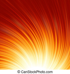 Abstract glow Twist with golden flow. EPS 8