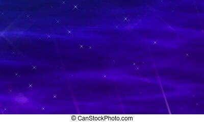 Enlighten Blue-Violet Abstract Loop