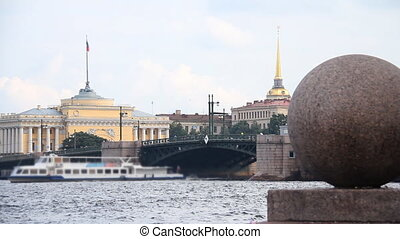 Admiralty - Russia, St Petersburg, Admiralty in St...