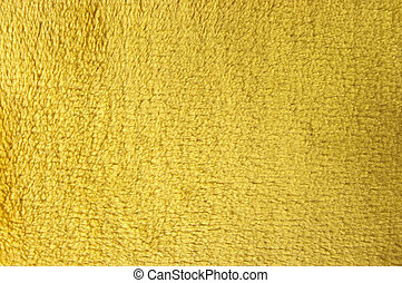 Yellow fleece texture for background usage