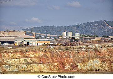 The Riotinto mining area