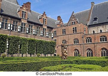 Het Pand in Gent, Belgium - Het Pand is an old Dominican...