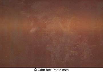 Copper plate. - Copper abstract background.