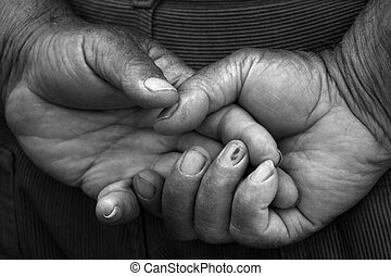 male hands in black and white - male hands