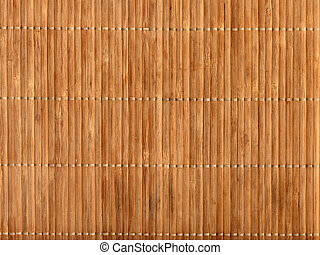 Empty Bamboo Table Mat - Empty Brown Chinese Bamboo Table...