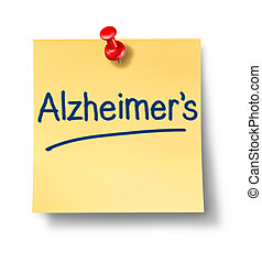Alzheimer Reminder Office Note - Alzheimers neurological...