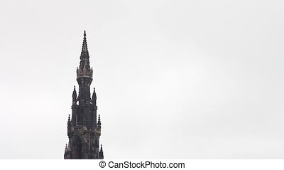 Scott Monument in Edinburgh - Scott Monument, Princes Street...