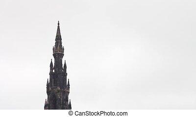 Scott Monument in Edinburgh. - Scott Monument, Princes...