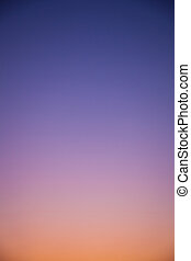 Gradation sky - Gradation of the evening sky, the sky is...