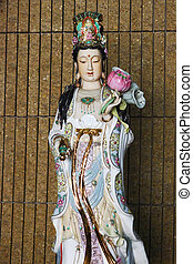 Kuan Yin in temple - Kuan Yin in temple