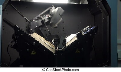 Scanner for books