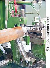 Lathe Turning Stainless Steel - Lathe for metal materials