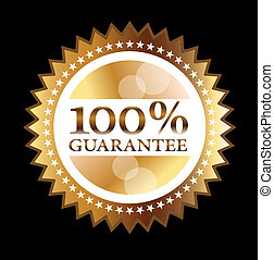 Gold seal 100% guarantee