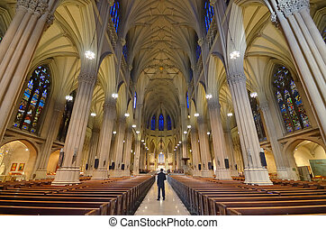 St, Patrick's, Cathedral, New, York