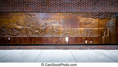 Firefighters Sept. 11 Memorial Wall - Historic Firefighters...