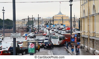 streets of St. Petersburg