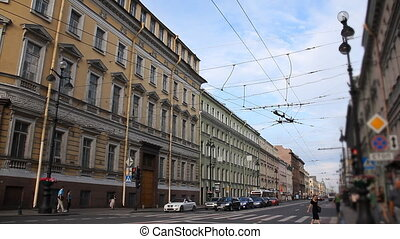 streets of St. Petersburg - Russia, St. Petersburg, streets...