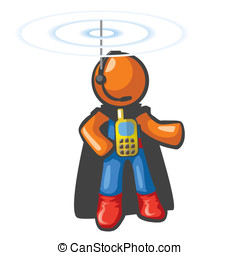 Orange Man Communications Hero