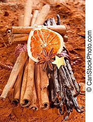 Cinnamon and vanilla - Bundle cinnamon and a bunch of...