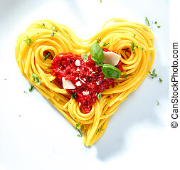 Spaghetti For A Loved One - Spaghetti with tomato and cheese...