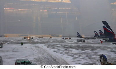 airfield airport - view from the terminal