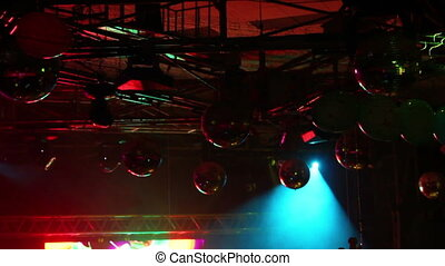 lighting equipment  at concert