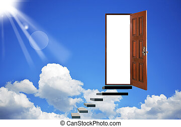 Open door in heavens - Abstract. Open door in heavens. The...