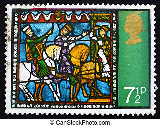 Postage stamp GB 1971 Journey of the Kings