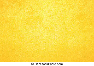 yellow wall - stucco wall painted in a bright yellow color -...