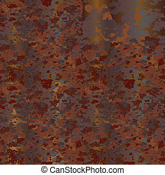 rust - Plate of rusty metal Seamless