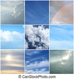 Different moods of the sky