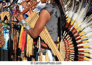 Native South American music - Native South American tribal...