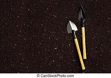 Soil and garden tool
