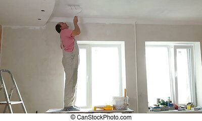 House Painter Rolling