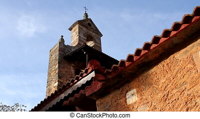 The old church. - The old church of Requejo de Pradorrey, in...