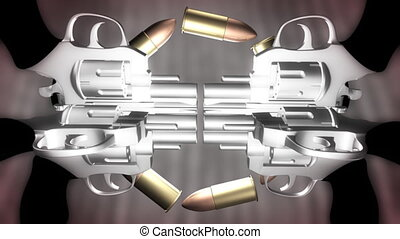 Bullets and Guns Loop - Bullets and Guns Looping Animated...