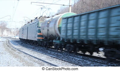 Russian Railways. Locomotives, wago